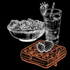 menu gaufre - pipelette